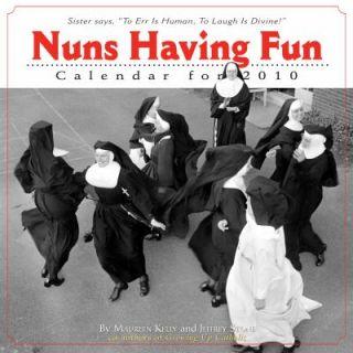 Nuns Having Fun Wall Calendar 2010 by Jeffrey Stone and Maureen Kelly