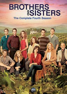 Brothers Sisters The Complete Fourth Season DVD, 2010, 6 Disc Set