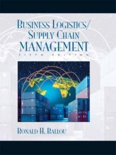 Business Logistics Supply Chain Management and Logware Pack by Ronald