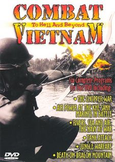 Combat Vietnam   To Hell and Beyond DVD, 2000
