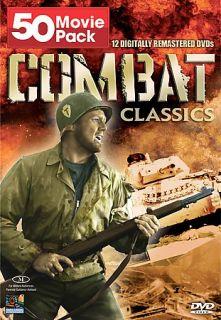Combat Classics   50 Movie Pack DVD, 2008, 12 Disc Set