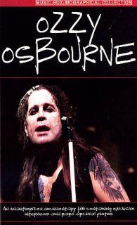 Ozzy Osbourne   Music Video Box Documentary DVD, 2006