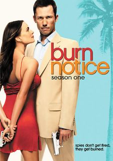 Burn Notice   Season 1 DVD, 2009, 4 Disc Set