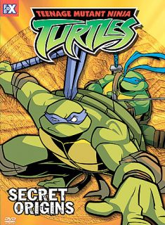 Teenage Mutant Ninja Turtles   Vol. 10 Secret Origins DVD, 2004