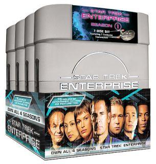 Star Trek Enterprise   The Complete Series DVD, 2005, 27 Disc Set