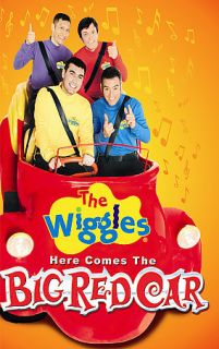 The Wiggles   Here Comes Big Red Car DVD, 2006
