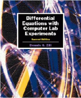 Differential Equations with Computer Lab Experiments by Dennis G. Zill