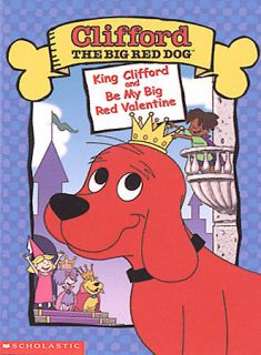 Clifford the Big Red Dog   King Clifford Be My Big Red Valentine DVD