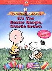 Easter Beagle, Charlie Brown DVD, 2003, Checkpoint Security Tag