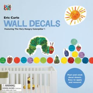 Eric Carle Wall Decals Featuring the Very Hungry Caterpillar by Eric