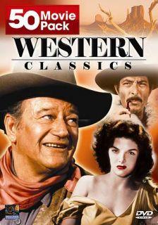 Western Classics 50 Movie Pack DVD, 2004, 12 Disc Set