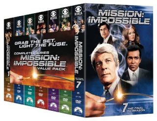 Mission Impossible   Complete Series DVD, 2009, 46 Disc Set