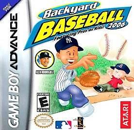 Backyard Baseball 2006 Nintendo Game Boy Advance, 2005
