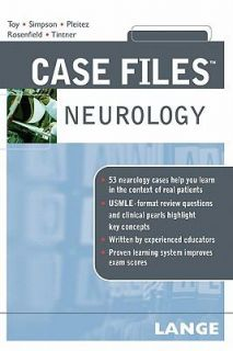 Case Files Neurology by Ron Tintner, Eugene C. Toy, Ericka Simpson