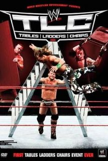 WWE TLC   Tables, Ladders and Chairs 2010 DVD, 2011, Canadian