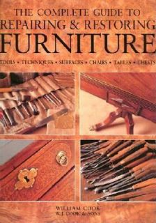 Antique Furniture by Billy Cook and W. J. Cook 2003, Hardcover