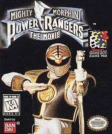 Power Rangers The Movie Nintendo Game Boy, 1995