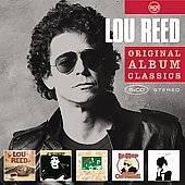 Original Album Classics by Lou Reed CD, Aug 2008, 5 Discs, Legacy