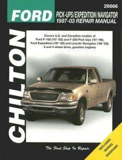 Ford Pick Ups Expedition Navigator 1997 30 Repair Manual by Eric