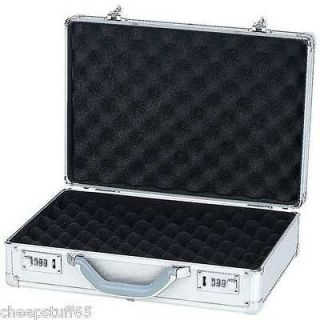 Lock Aluminum Pistol Handgun Storage Carrying Case lock Box / Gun