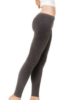 AMERICAN APPAREL WINTER LEGGINGS BLACK/CHARCOAL (RSATT328)