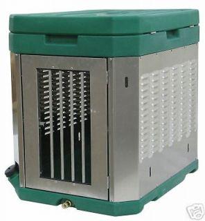 NEW Professional Dog Box Aluminum & Plastic Kennel