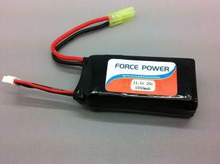 AR Drone Spare Upgrade Battery 1350mah 11.1V 25C RC Lipo battery