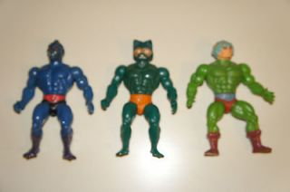He Man Masters of the Universe Lot MER MAN WEBSTOR MAN AT ARMS MOTU