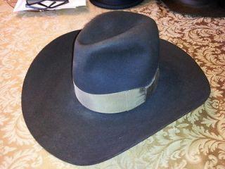 VTG RESISTOL CORDOVA COWBOY WESTERN HAT 7 1/4 CAROLE & GEORGES