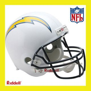 SAN DIEGO CHARGERS NFL DELUXE REPLICA FULL SIZE FOOTBALL HELMET by