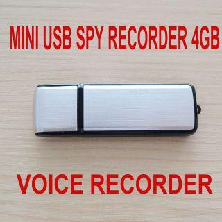 New Mini 4GB USB Pen Digital Audio Voice Recorder 70 Hours recording