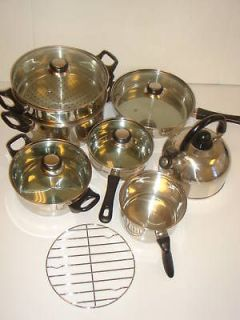 stainless steel cooking pots in Cookware