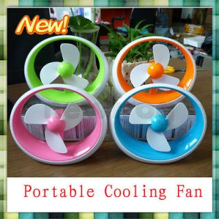 Portable Summer Electric Multicolor Rechargeable Cooler Cooling Fan