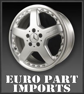 Silver AMG Mercedes Benz OEM Qty Wheels/Rims 2204011202