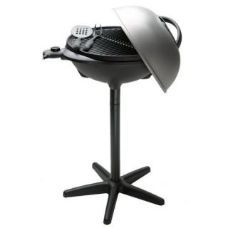 NEW GEORGE FOREMAN INDOOR/OUTDOOR ELECTRIC BARBEQUE GRILL