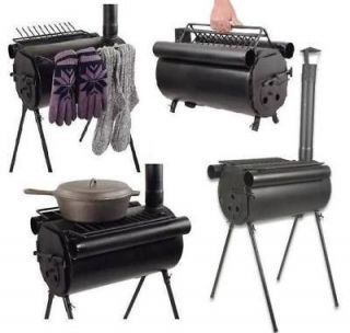 Newly listed Portable Military Camping Steel Wood Stove Tent Heater