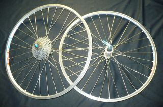 Bike wheel set Ritchey Rims Rock Pro OCR & Shimano 750 Gear