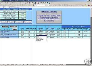 FEES / fee & POSTAGE calculator April 2010 + BONUS