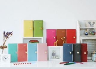 2013 Rainbow Diary   for Year 2013 Scheduler Weekly Planner Organizer