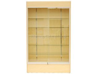Wall Display Case Retail Store Fixture w/ Lights #WC4M
