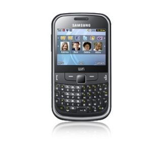Samsung Chat 335 Ch@t   Metallic black (Unlocked) Smartphone