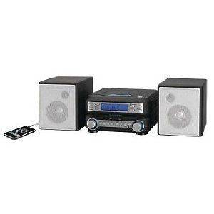 GPX HC221B MICRO HI FI SHELF SYSTEM TOP LOADING CD PLAYER AM/FM RADIO