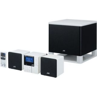 JVC NXPS1 Compact Shelf Stereo System with iPod Connect and Subwoofer