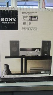 Sony CMT MX500i Micro Shelf System Stereo CD Player Brand New