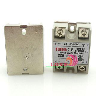 Solid State Relay SSR25DA DC to AC 25A DC3 32V/AC24 380V Single