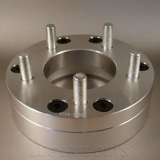 BILLET WHEEL ADAPTERS 6x5.5 to 5x4.75 2 THICK SPACERS 6 LUG to 5