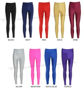 LADIES HIGH WAISTED AMERICAN APPAREL STYLE LEGGINGS BNWT 6 8 10 12