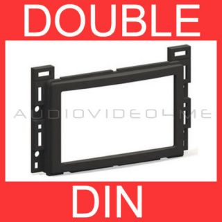 Double Din Car Radio Stereo Install Dash Mount CD Player Mounting Kit