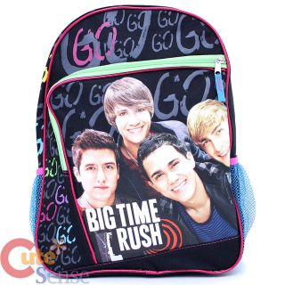 Big Time Rush School Backpack 16 Large Bag with Kendall James Carlos