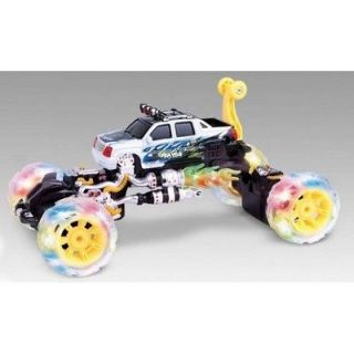 Rechargeable Monster RC Remote Control Car Toy Lights Up Music Spins